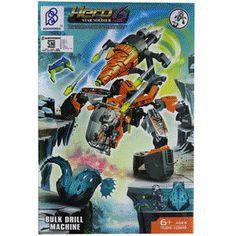 NEW Hero Factory 6.0 Star Soldier Action Figure Surge /& Rocka Combat Machine DIY