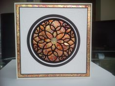 Gilding flakes and Flock card, by kirstyfj