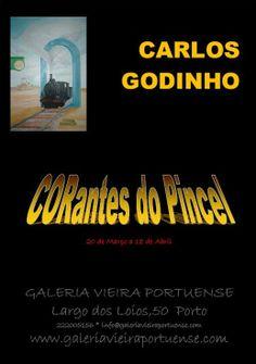 GALERIA VIEIRA PORTUENSE: CORantes do Pincel, pintura de Carlos Godinho, Mar...