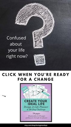 This life planner will help you clear up any confusion you're feeling right now. Give it a try. It's amazing how simple it is to get back on the right track! #digitalplanner #printableplanner #printable #selfcare #selfhelp #copingskills #hardtimes #goalplanner #lifeplanner #planner #writingprompts #organization #wellness #lifegoals #goalsetting #goals #personalgrowth #lifepurpose Goals Printable, Printable Planner, Printables, Skinny Motivation, Need Motivation, Goals Planner, Life Planner, 20 Day Challenge, Life Organization