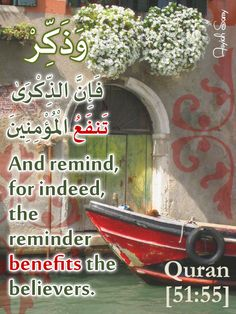 The Holy Quran 51:55