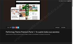 Performag Theme Premium Parte 2: Te cuento todos sus secretos paso a paso #performag #thrivethemes #thrive #wordpress #tutorial #guias #plantillas #tutoriales #premium