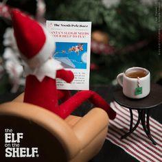 Elf on the Shelf Ideas | Breaking News At Tea Time | The Elf on the Shelf®