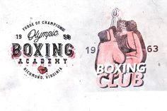 Ad: 20 Vintage Boxing & Gym Logos by Roman Paslavskiy on Hello! I'm glad to introduce you new set of vintage logos - Boxing & Gym Templates with themed design elements: boxing gloves, MMA Gym Memes, Gym Humor, Typography Logo, Graphic Design Typography, Gym Design, Logo Design, Cardio, Mma Gloves, Boxing Gloves