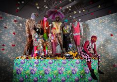 Ebony G. Patterson: Dead Treez at Museum of Arts and Design, though April 3, 2016