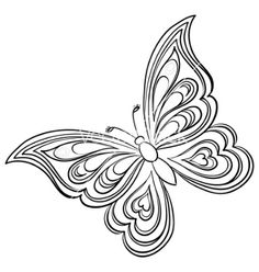 silhouette butterfly . - Google Search