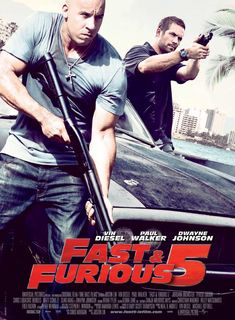"Fast & Furious 5 Rio Heist. ""All great/good except Tokyo Drift"" can't wait for 6th one."
