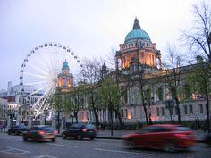 Belfast City Hall and Belfast Eye