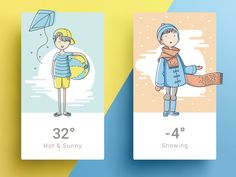 UI Inspiration: Cards | Abduzeedo Design Inspiration