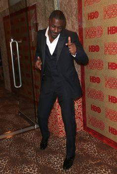 Idris Elba - HBO's Post 2014 Golden Globe Awards Party - Arrivals