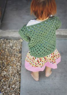 Love this Granny Square Top....thinking I can alter the size for my olders...(=