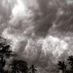 #parecequevaallover #nuves #clouds #koratty  #kerala #india