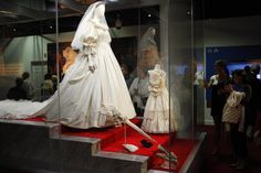 This is the traveling exhibit, Diana - A Celebration.  It has traveled to various locations in the United States, but I have yet to see it.  I just need a glimpse at the magnificent wedding dress.