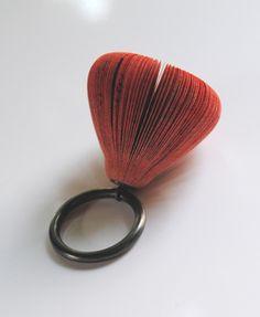 MICHIHIRO SATO. RING. PAPER, SILVER