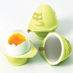 Carton packaging helps you make the perfect boiled egg in 2 minutes, without water Packaging Box, Clever Packaging, Brand Packaging, Packaging Design, Product Packaging, Food Design, Creative Design, Perfect Boiled Egg, Yogurt