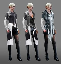 Female Clothes from Remember Me
