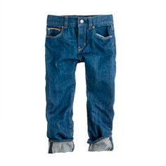 Boys' collection slim selvedge jean