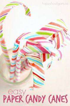 Easy Paper Candy Can