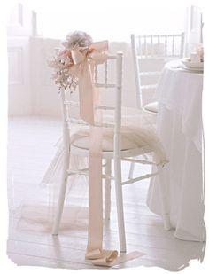 wedding chair Confiteria Ideas, Ballet Wedding, Tiffany Chair, Blush Pink Weddings, Romantic Weddings, Unique Weddings, Wedding Chairs, Wedding Moments, Industrial Wedding