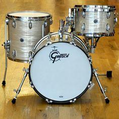 Gretsch Brooklyn 12/14/18/5x14 4pc Bop Drum Kit Cream Oyster