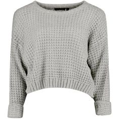 Amber Crop Jumper (21 SEK) ❤ liked on Polyvore featuring tops, sweaters, shirts, jumpers, jumper top, crop shirt, cropped jumper, shirt crop top and white cropped sweater