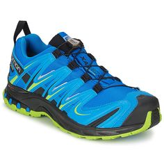 low priced 9d94a aba4a Running-shoes Salomon XA PRO 3D ULTRA 2 GTX Blue   Black   Green Salomon
