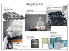 The gift guide 'Home Edition' is here! What's on your wishlist?