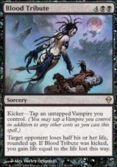 mtg Black Vampire Deck Magic the Gathering