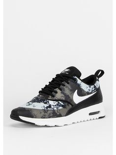 NIKE Laufschuh Air Max Thea black/white/dark grey