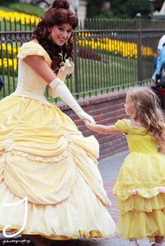Belle and little princess