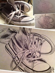 ) great example of drawing from life for beginning art. Drawing Projects, Drawing Lessons, Art Lessons, Drawing Ideas, Art Projects, High School Art, Middle School Art, Sketchbook Inspiration, Art Sketchbook