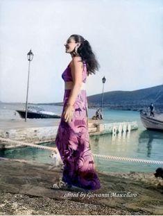 Maria Callas in Greece -July 1970
