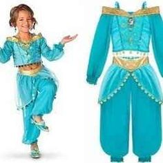 Princess Jasmine Costumes for kids and adults