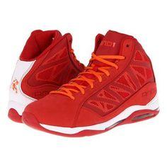 9a1ac220bc04 AND1 Entourage Mid Men s Basketball Shoes - Varsity Red White Orange