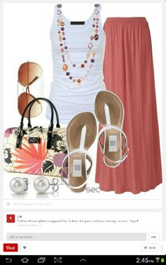 like this except for the purse.  no earrings