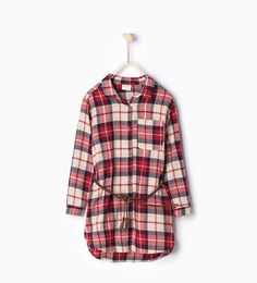 ZARA - KIDS - Long shirt with belt