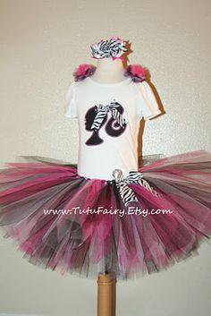 Barbie Birthday Girl Tutu Dress :D