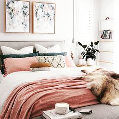Blush bedding. Simply STIL.