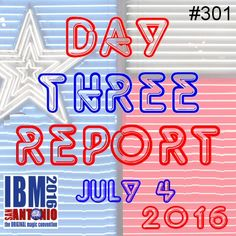 Day three - daily convention update