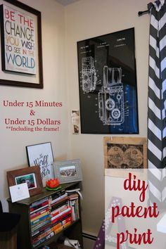 Complete this easy DIY in under 15 minutes and under 15 dollars!