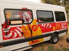 McDonalds's Bus