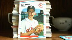 FLEER 1988 TOM BOLTON CARD#346 BOSTON RED SOX...