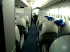 Inside the Boeing 747-400 Coach and World Business Class