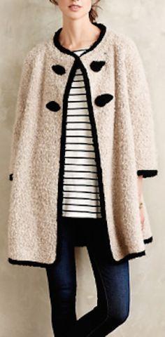 cute wool boucle coat http://rstyle.me/n/psckzr9te