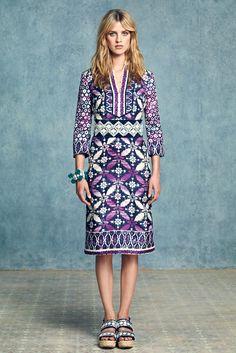 Tory Burch Resort 2013 Fashion Show - Julia Frauche