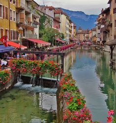 Annecy, France - Sandie Besso @ Flickr.                                                                                                                                                           ANNECY / FRANCE                                         ..