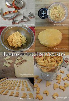 Homemade Goldfish Crackers by Thinkarete, via Flickr