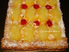 Cheesecakes, Date And Walnut Cake, Portuguese Recipes, Portuguese Food, Dessert Recipes, Desserts, Hawaiian Pizza, Coco, Macaroni And Cheese