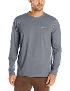 Columbia Men's Trail Summit Long Sleeve Shirt >>> For more information, visit now : Camping clothes