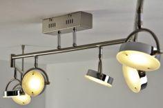 LED 6 lights ceiling bar spots 4W adjustable hanging lamp flush lighting 61078 | eBay